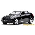 Машинка р/у 1:24 Meizhi лиценз. BMW X6 металл.(черный)
