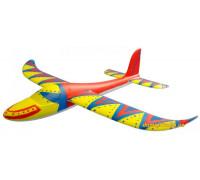 Планер метательный Hawk с красками (JC-30316 J-Color)