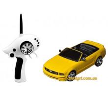 Автомодель р/у 1:28 IW02M-A Ford Mustang 2WD, желтый (FLP-211G6y Firelap)