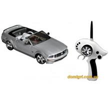Автомодель р/у 1:28 IW02M-A Ford Mustang 2WD, серый (FLP-211G6g Firelap)
