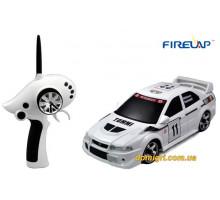 Автомодель р/у 1:28 IW02M-A Mitsubishi EVO 2WD, белый (FLP-205G6w Firelap)