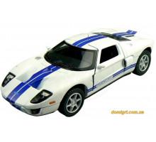 Автомодель р/у 1:28 IW04M Ford GT 4WD, серый (FLP-408G4g Firelap)