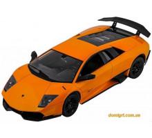 Машинка р/у 1:10 Lamborghini LP670-4 SV, желтый (MZ-2020y Meizhi)