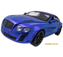Машинка р/у 1:14 Bentley Coupe, синий (MZ-2048b Meizhi)