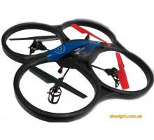 Квадрокоптер мини р/у 2,4 ГГц Cyclone Mini, синий (WL-V606b WL Toys)