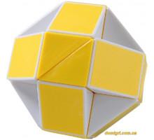 Головоломка Змейка, желтая (SCT405 Smart Cube)