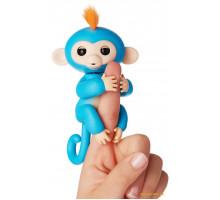 Интерактивная обезьянка Wow Wee Fingerlings Baby Monkey (батарейка)