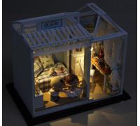 3D конструктор DIY House Дом мечты в синих тонах (PH003)