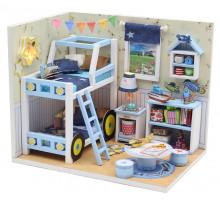 Мини-интерьерная модель DIY House Комната Чарли (M019 GHCraft)