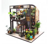 Мини-интерьерная модель DIY House Кофейня (M027 GHCraft)