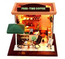 3D конструктор DIY House Кафе Free-time (C001)