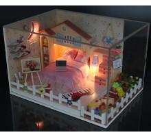 Мини-интерьерная модель DIY House Лунный залив (D025 GHCraft)