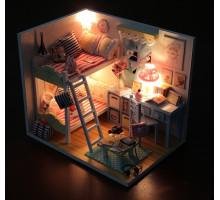 Мини-интерьерная модель DIY House Уголок детства (D014 GHCraft)