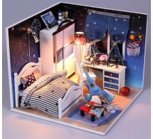 3D конструктор DIY House Комната звездочета (M008)