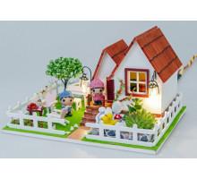 Міні-інтер'єрна модель DIY House Романтичний відпочинок (D016 GHCraft)