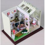 Мини-интерьерная модель ручной работы Уютная кухня