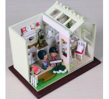 Мини-интерьерная модель DIY House Уютная кухня (PH001 GHCraft)