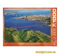 Пазл 1000 Пейзаж : Мост Голден Гейт (6000-0548 EuroGraphics)