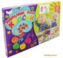 Пальчиковые краски, 7 цветов (6815 Danko Toys)