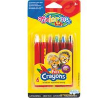 Аквагрим 6 кольорів (32629PTR Colorino)