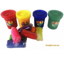 Набор Пальчиковые краски 4 цвета в банках (РК-03-01 Danko Toys)