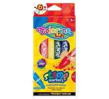 Фломастери-штампи 6 штук, Colorino