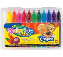 Олівці для дитячого гриму, 12 кольорів, Colorino
