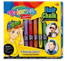 Мел для волосся, класичні кольори (6 кольорів), Colorino