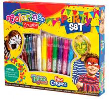Подарочный набор красок для лица Party set, Colorino