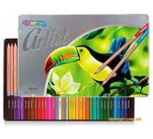 Пастель масляная, круглая Рremium, серия Artist (36 цветов), Colorino