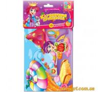 Игра с мягкими наклейками. Клубничная принцесса (VT4206-15 VladiToys)