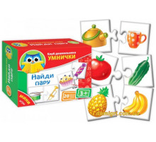 Мини-игра Найди пару, рус (VT1309-03 Vladi Toys)
