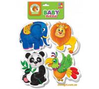 Беби-пазлы Зоопарк (VT1106-50 Vladi Toys)