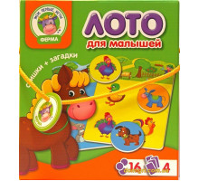 Лото Ферма, рус (VT2100-01 Vladi Toys)