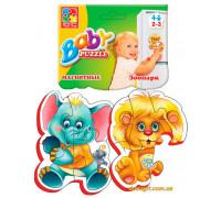 Магнитные беби-пазлы Зоопарк (VT3208-01 Vladi Toys)