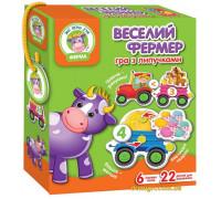 Игра с липучками Веселый фермер, укр (VT1310-03 Vladi Toys)