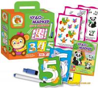 Игра с карточками Чудо-маркер Зоопарк, укр (VT2100-05 VladiToys)