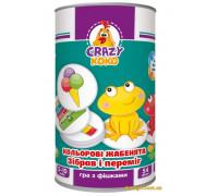 Игра с фишками Цветные лягушата (VT8020-02 Vladi Toys)