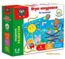 Игра-шнуровка На природе (рус.), Vladi Toys