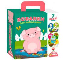 Настільна гра Пазли-двійнята Прятки для самих маленьких, Vladi Toys