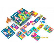 Crazy Домино, настольная игра (рус), Vladi Toys