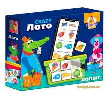 Crazy Лото, настільна гра (укр), Vladi Toys