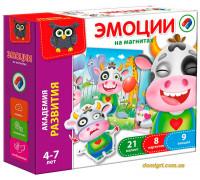 Игра настольная магнитная Эмоции (рус.), Vladi Toys