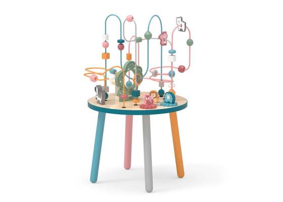 Деревянный игровой центр PolarB Столик с лабиринтом Viga Toys
