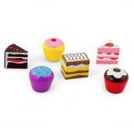 Набор Деревянные пирожные, 6 шт. Viga Toys