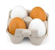 Набор Деревянные яйца в лотке, 4 шт. Viga Toys