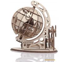 Деревянный механический конструктор Глобус (1007 Playwood)