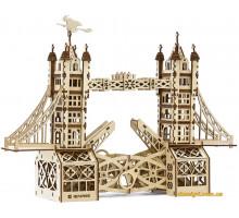 Деревянный механический конструктор Тауэрский мост (1002 Playwood)