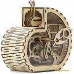 Деревянный механический конструктор Улитка-копилка (1001 Playwood)