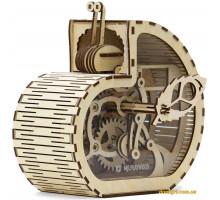 Дерев'яний механічний конструктор Равлик-скарбничка (1001 Playwood)